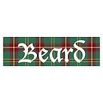 Tartan - Beard Sticker (Bumper 50 pk)