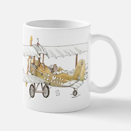Mail Plane Mug