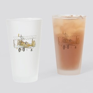 Mail Plane Drinking Glass