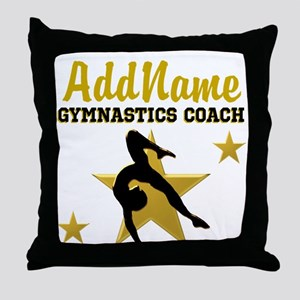 FAVORITE COACH Throw Pillow