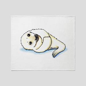 Seal Pup Throw Blanket