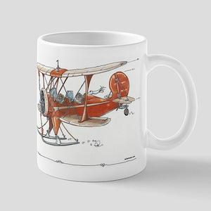 Waco Ski Plane Mug