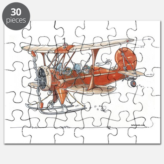 Waco Ski Plane Puzzle