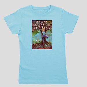 Yoga Balance-Tree POSE Girl's Tee