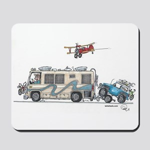 Heading to the Airshow Mousepad
