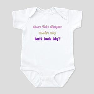 Pink & Purple diaper shirts Infant Bodysuit