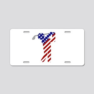 USA Mens Golf Aluminum License Plate