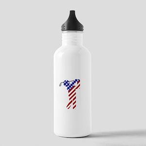 USA Mens Golf Water Bottle
