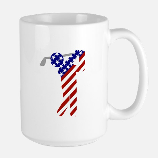 USA Mens Golf Mug