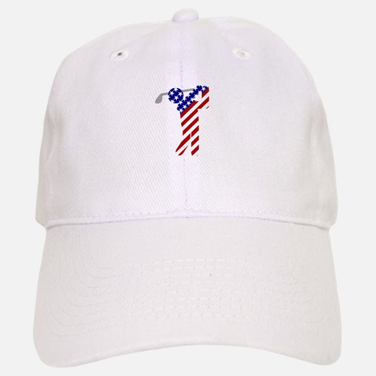 USA Mens Golf Baseball Hat