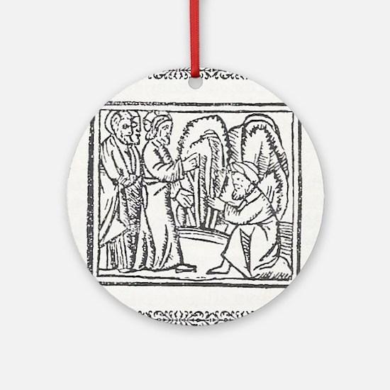 compendium malefictorum 17 Ornament (Round)