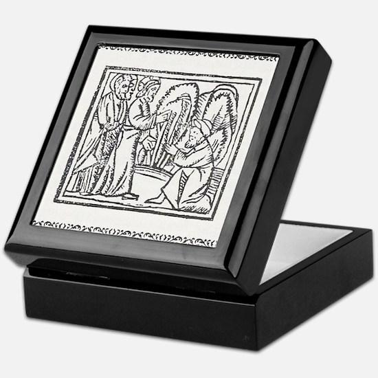 compendium malefictorum 17 Keepsake Box