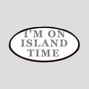 Im On Island Time Patches
