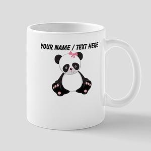 Custom Girl Panda Mug