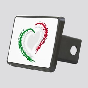 Italian Heart Rectangular Hitch Cover