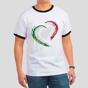 Italian Heart Ringer T