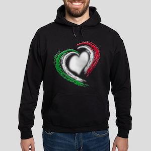 Italian Heart Hoodie (dark)