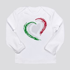 Italian Heart Long Sleeve Infant T-Shirt