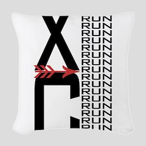 XC Run Run Woven Throw Pillow