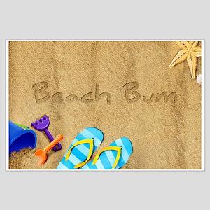 Beach Bum Large Poster