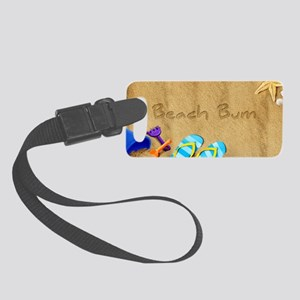 Beach Bum Small Luggage Tag