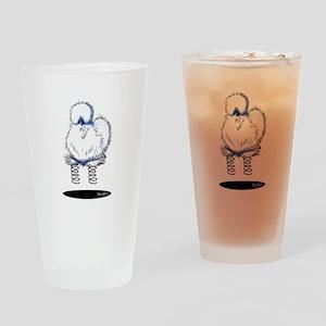 Spring Chicken Drinking Glass