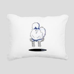 Spring Chicken Rectangular Canvas Pillow