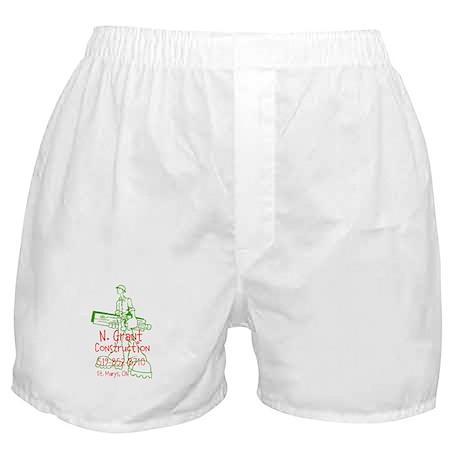 N. Grant Construction Logo Boxer Shorts