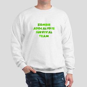 Zombie apocalypse Survival Team Sweatshirt