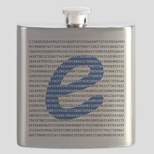 1000 Digits of e Flask