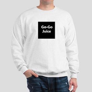 go go juice in B&W Sweatshirt