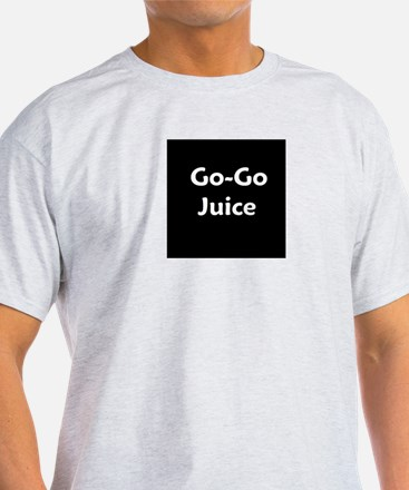 go go juice in B&W T-Shirt