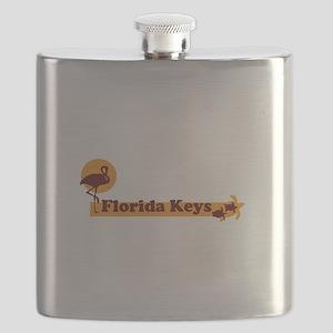 Florida Keys - Beach Design. Flask