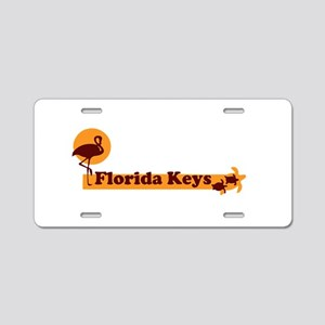 Florida Keys - Beach Design. Aluminum License Plat