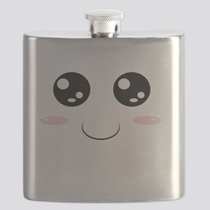 Smiley Kawaii Face Flask