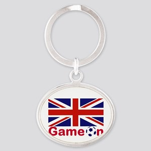 Let the Games Begin Keychains
