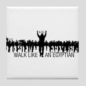 Walk Like An Egyptian Tile Coaster