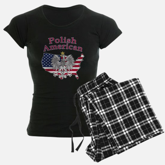 Polish American Map Pajamas