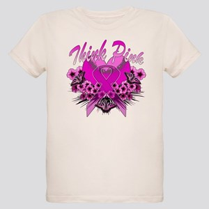 Think Pink Organic Kids T-Shirt