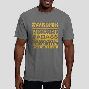 Heavy Equip Operator Bec Mens Comfort Colors Shirt