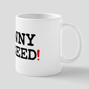 JOHNNY HAYSEED Small Mug