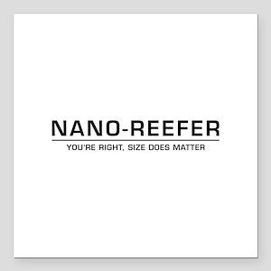 "Nano-Reefer Square Car Magnet 3"" x 3"""