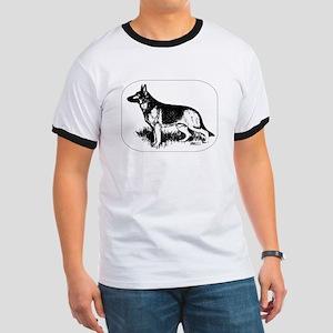 German Shepherd Profile T-Shirt