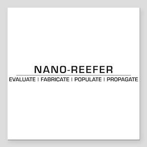 """Nano-Reefer Evolution Square Car Magnet 3"""" x 3"""""""