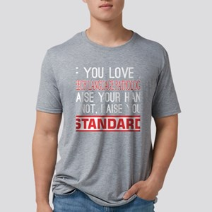 If You Love Speech Lang Pat Mens Tri-blend T-Shirt