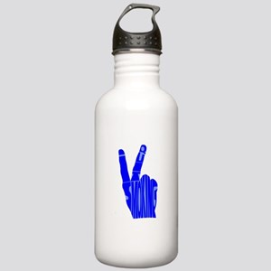 I quit smoking Sports Water Bottle
