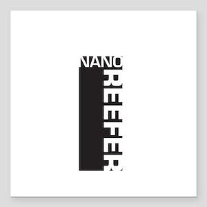 "Nano Reefer Square Car Magnet 3"" x 3"""