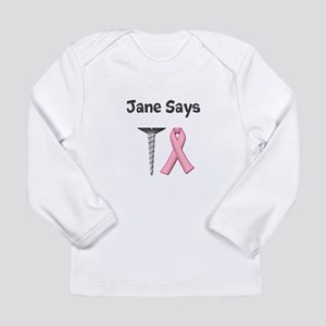 Jane Says Screw Cancer! Change to Your Name Long S