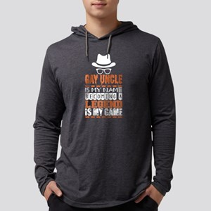 Gay Uncle Is My Name Becoming A Mens Hooded Shirt