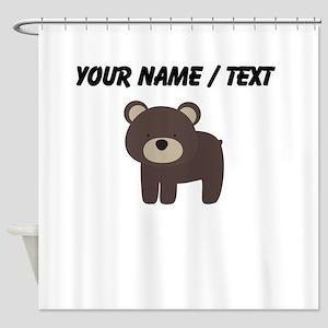 Cartoon Bear Shower Curtain